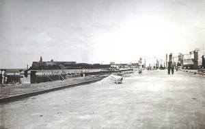 Constructing the Malecon